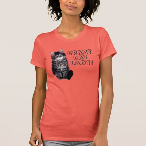 Crazy Cat Lady! Tee Shirts