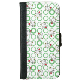 Crazy Chickens iPhone 6 Wallet Case