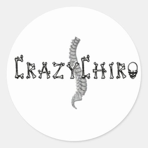 Crazy Chiro - Revolution in Chiropractic Sticker