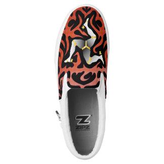 Crazy Flag #109 Slip-On Shoes