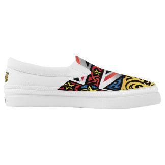 Crazy Flag #166 Slip-On Shoes