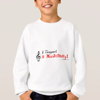 Crazy Support for a Musicianary Sweatshirt