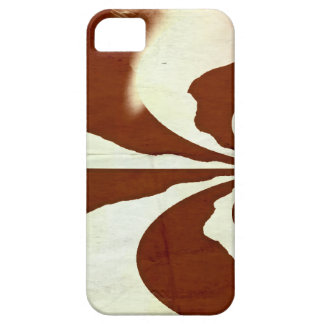 Cream and chocolate barely there iPhone 5 case