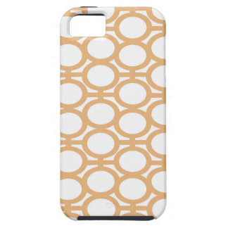 Cream and White Eyelets iPhone 5 Case
