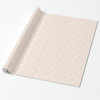 Cream And White Japanese Print Wrapping Paper
