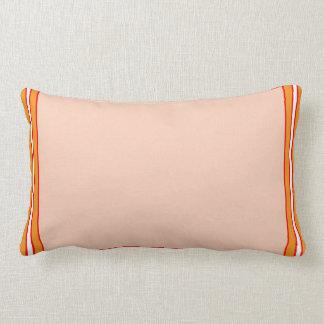 Cream Background Print Shirt Pocket Gifts add TEXT Lumbar Pillow