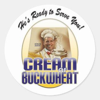 Cream of Buckwheat Sticker
