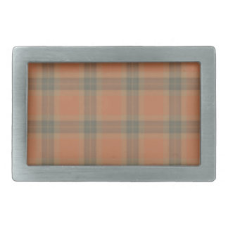 Cream Tartan Belt Buckle