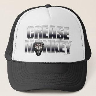Crease Monkey (Hockey Goalie) Trucker Hat