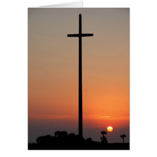 Creat Cross of Saint Augustine, Florida Card
