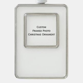 Create Custom Framed Photo Christmas Tree Ornament