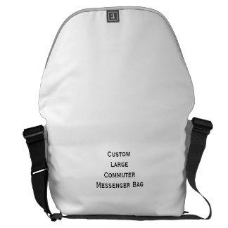 Create Custom Large Commuter Travel Messenger Bag