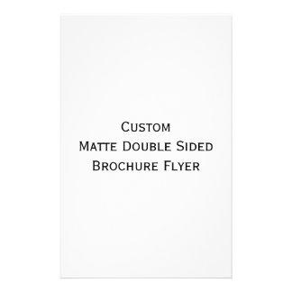 Create Custom Matte Double Sided Brochure Flyer