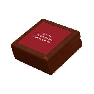 Create Custom Valentines Day Jewelry Gift Box