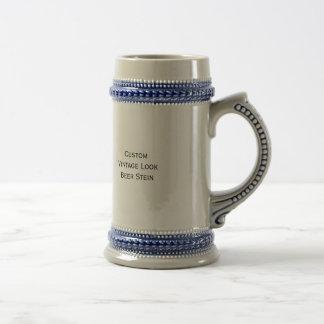 Create Custom Vintage Look Beer Stein Mug