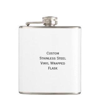 Create Custom Vinyl Wrapped Steel Hip Pocket Flask