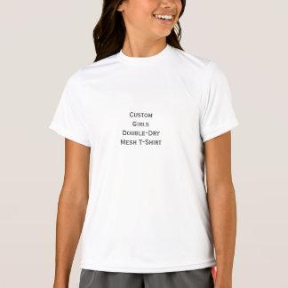 Create Girls Custom Sports Double-Dry Mesh T-Shirt