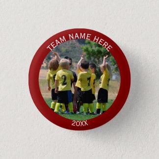 Create Sports Team Photo 3 Cm Round Badge