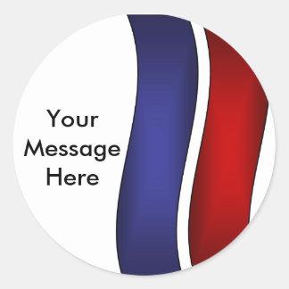 Create Your Message Round Sticker