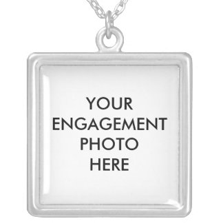 Create Your Own Engagement Photo Necklace