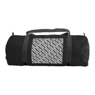 Create Your Own Gym Bag Black