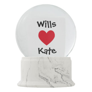 Create Your Own He Love Her Snow Globe