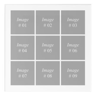 Create your own Instagram photo collection Acrylic Print