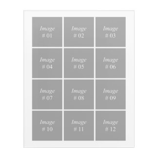 Create your own Instagram photo collection Acrylic Wall Art