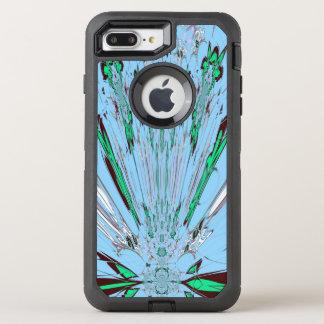 Create Your Own Italian blue Creative Heart design OtterBox Defender iPhone 7 Plus Case