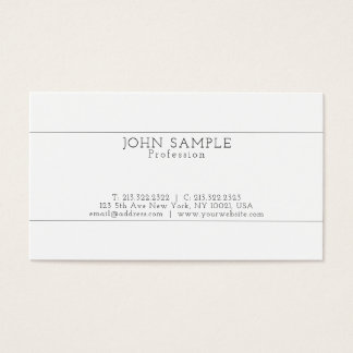 Create Your Own Modern Professional Elegant Simple Business Card