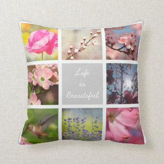 Create Your Own Photo Collage Cushion