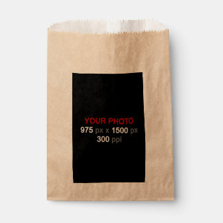 Create Your Own Photo Custom Favor Bag Favour Bags