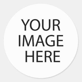 Create Your Own Round Sticker