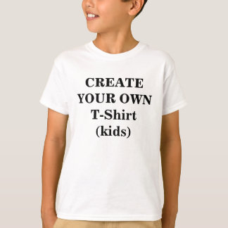 Create Your Own T-Shirt (Kids)