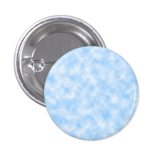 Created Blue and White Clouds Design 3 Cm Round Badge