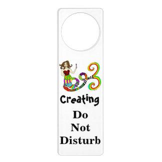 Creating Do Not Disturb Mermaid Door Hanger