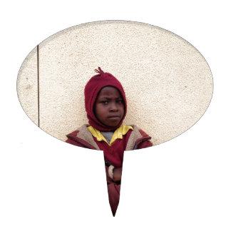 Creating Master Teachers: Abraham Maasai Student Cake Topper