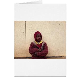 Creating Master Teachers: Abraham Maasai Student Cards