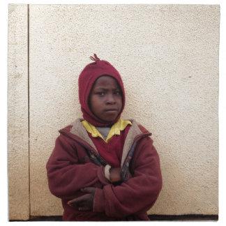 Creating Master Teachers: Abraham Maasai Student Printed Napkins