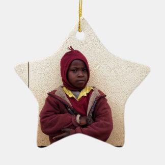 Creating Master Teachers: Abraham Maasai Student Christmas Tree Ornament