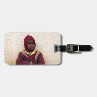 Creating Master Teachers: Abraham Maasai Student Tag For Luggage