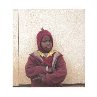 Creating Master Teachers: Abraham Maasai Student Memo Pads