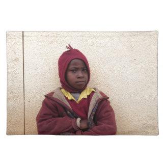 Creating Master Teachers: Abraham Maasai Student Cloth Placemat
