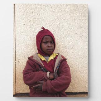 Creating Master Teachers: Abraham Maasai Student Photo Plaque