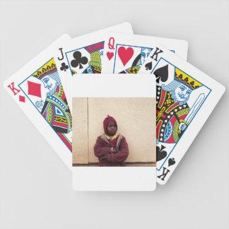 Creating Master Teachers: Abraham Maasai Student Bicycle Playing Cards