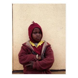 Creating Master Teachers: Abraham Maasai Student Postcard