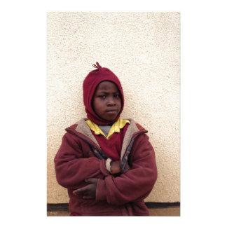 Creating Master Teachers: Abraham Maasai Student Personalized Stationery