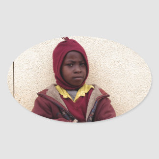 Creating Master Teachers: Abraham Maasai Student Oval Stickers