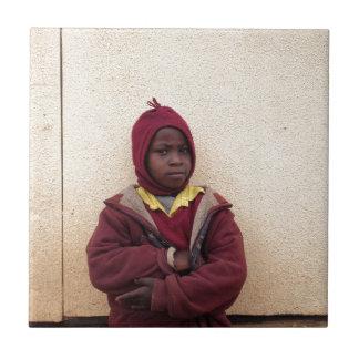 Creating Master Teachers: Abraham Maasai Student Ceramic Tile
