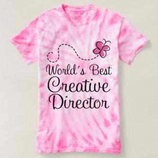 Creative Director (Worlds Best) Tie Dye Tshirt